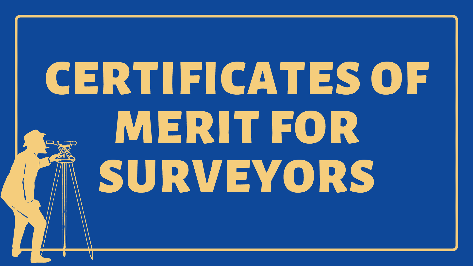 Certificates of Merit