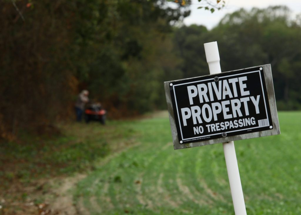 Private property types of land disputes